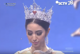 Nadia Purwoko, juara Miss Grand Indonesia 2018