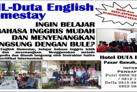 otal Mind Learning (TML) Duta English Homestay